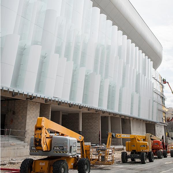 Paris La Défense Arena en mars 2016