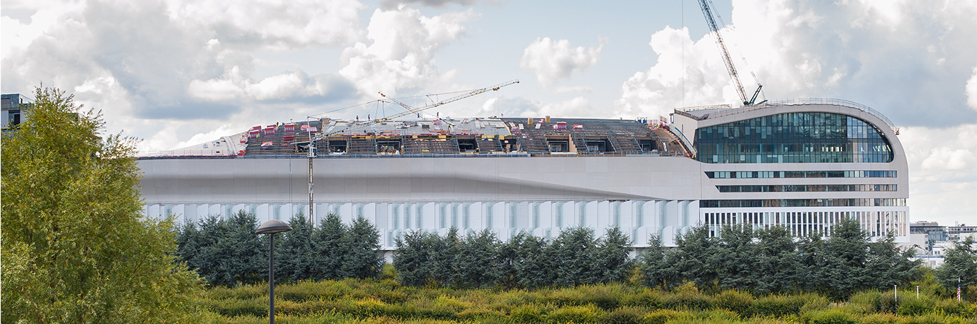 Paris La Défense Arena en août 2017