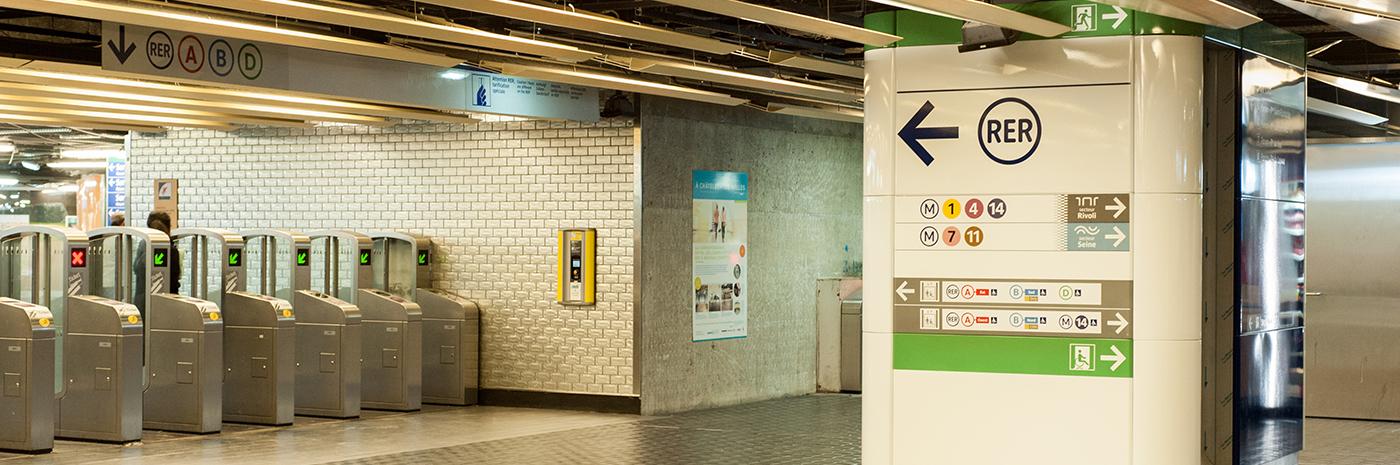 Pôle d'échange RER de Châtelet-les-Halles