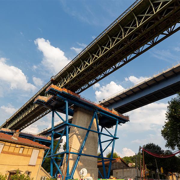 Renouvellement du viaduc de Marly-Le-Roi