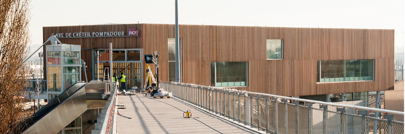 Gare de Créteil-Pompadour