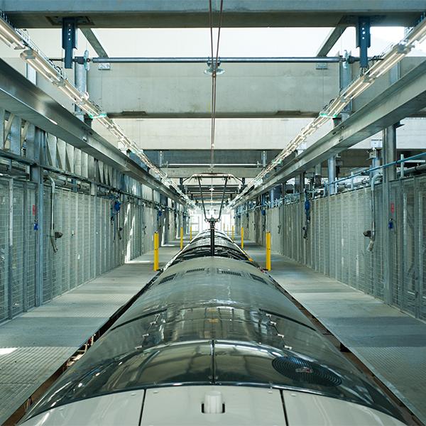 Atelier de maintenance RATP de Sucy-en-Brie