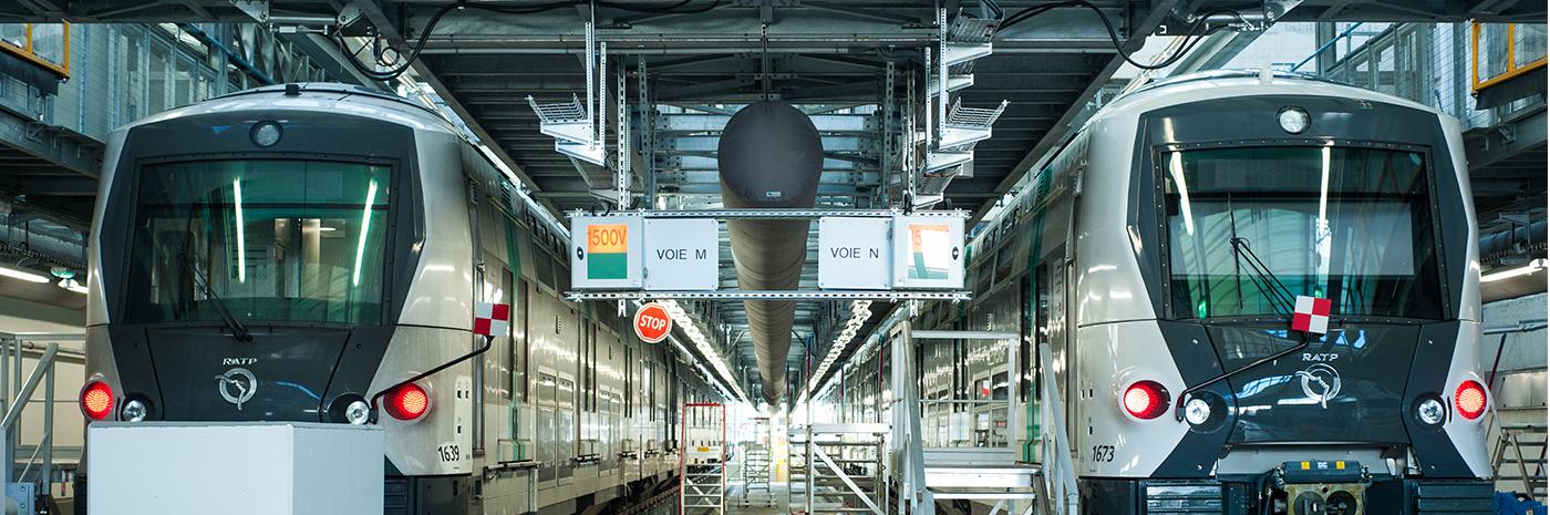Atelier de maintenance RATP à Sucy-en-Brie