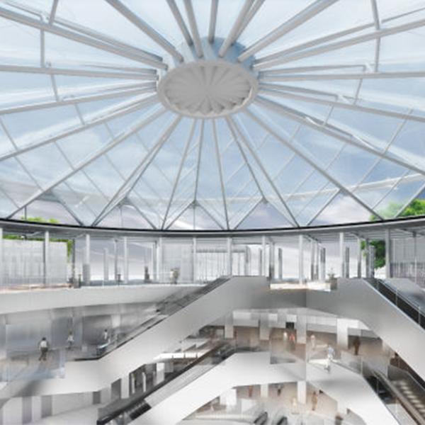 Ligne 15 Sud - Lot T3C - Vue 3D de la gare de Villejuif Institut