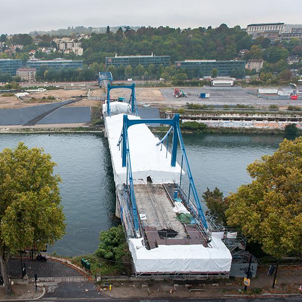 Pont Daydé à Boulogne-Billancourt