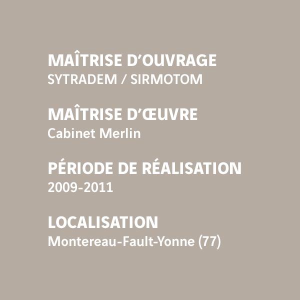 Fiche d'identité du chantier de l'unité de valorisation énergétique de Montereau