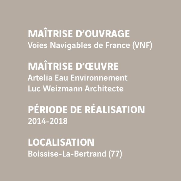 Fiche d'identité du chantier du barrage de Vives-Eaux