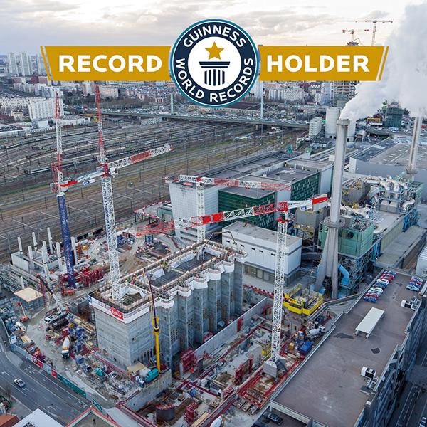 Fosse de réception des déchets IP13 obtient de Guinness World Record
