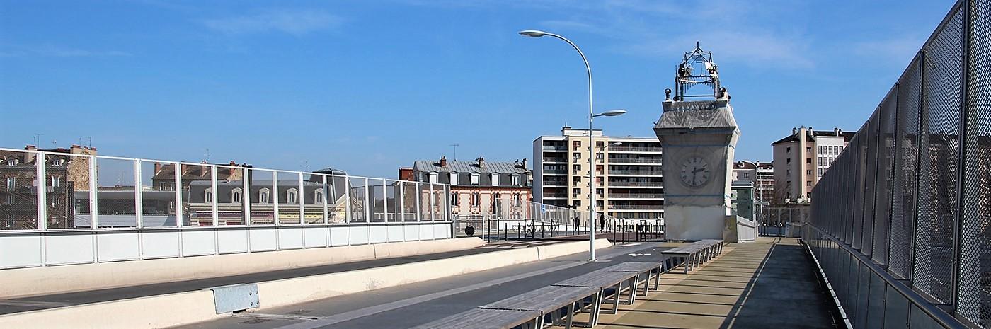 Passerelle de la gare de Juvisy-sur-Orge