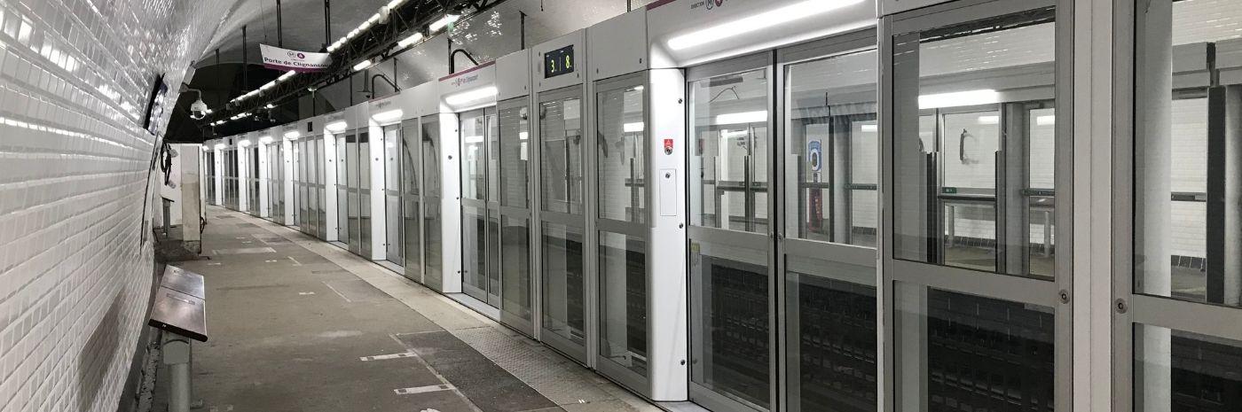 Quais sur la Ligne 4 automatique - OPAL 4