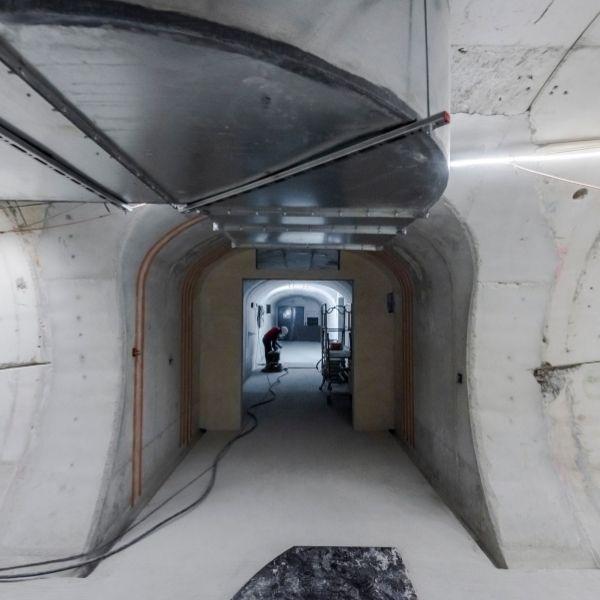 Rameaux de connexion entre la galerie d'évacuation et le Tunnel de Meudon à Chaville le 02/11/2020