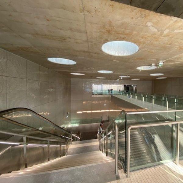Station Mairie de Saint-Ouen - Ligne 14 Nord - Lot T09 - Décembre 2020