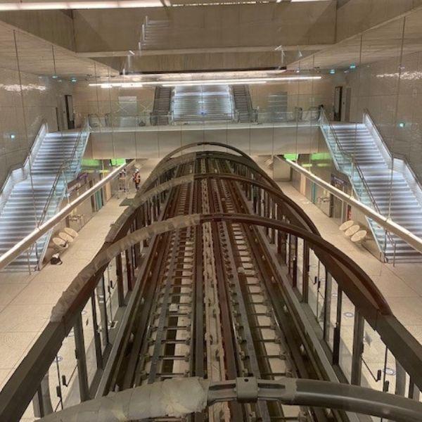 Quais et ligne de chemin de fer - Ligne 14 Nord - Lot T09 - Décembre 2020