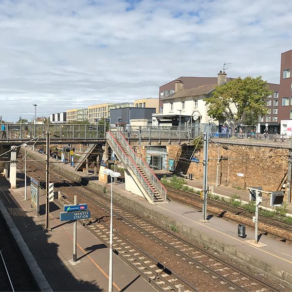 Gare de Mantes Station avant travaux